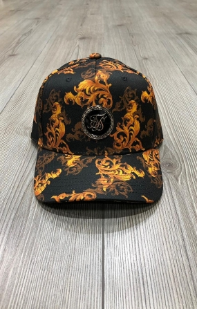 Dani Alves x SIikSilk Cappello Bent Peak Trucker - Nero&Oro