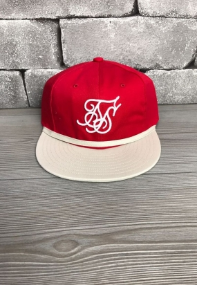 Cappello SikSilk & X Starter Signature Snapback - Red