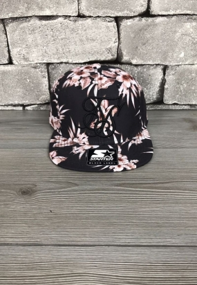 Cappello SikSilk & Starter Hawaii Snapback - Black