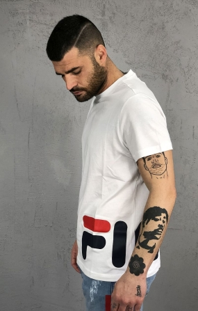 Fila T-Shirt Men Eamon - Bianco