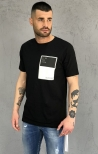 T-shirt Outcome Gianni Lupo - Nero