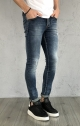 Denim Gianni Lupo Super Skinny - Blu denim