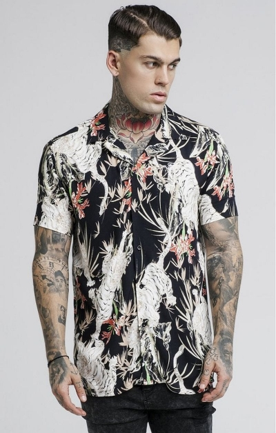 Camicia a Fantasia Multicolor - SikSilk
