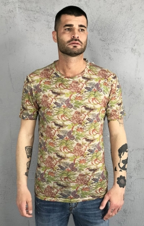 T-Shirt Tropical Beige - SSEINSE