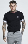 T-Shirt Raglan Tech Nera - SikSilk