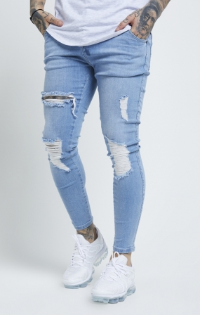 Denim Skinny Distressed - SikSilk