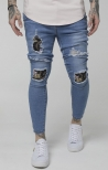 Denim con Patch - SikSilk