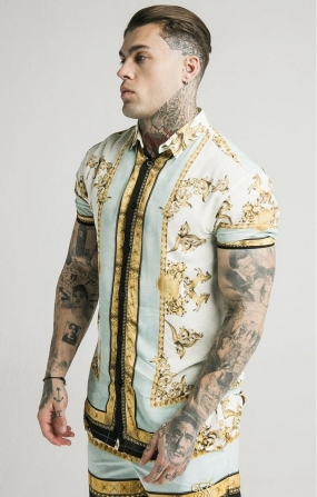 Camicia Lord Off white - SikSilk