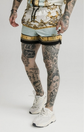 Pantaloncini da bagno Lord Off White - SikSilk