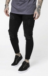 Jeans skinny Distressed Nero - SikSilk