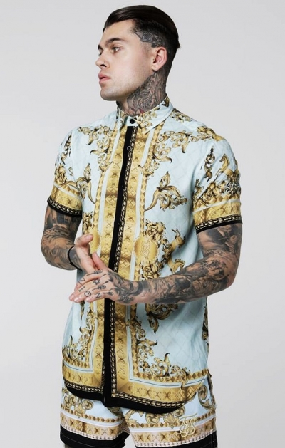Camicia Lord Light Blue - SikSilk