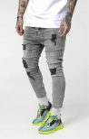 Denim SikSilk Drop Crotch Ultra - Grigio