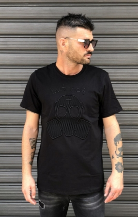 T-shirt ricamo Logo Nera - But Not
