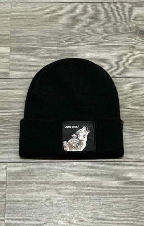 Cappello Lone Wolf Nero - Goorin Bros