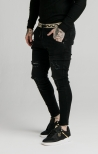 Denim Skinny Nero - SIKSILK