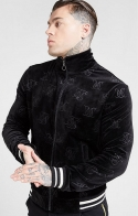 Giacca Bomber in velluto con stampa - SikSilk