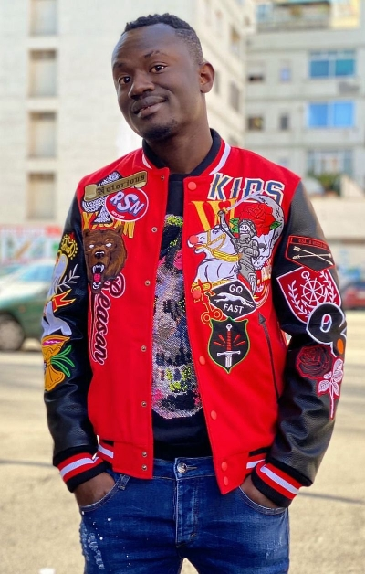 BOMBER PATCH - ROSSO