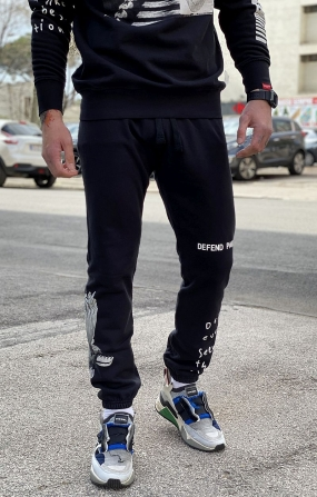 Pantalone sportivo San Salvador Nero - Defend Paris