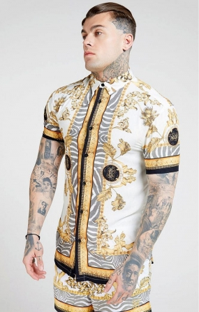 Camicia Resort Bianco Oceano - SikSilk