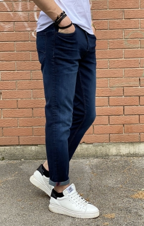 Denim Slim-Joy Blu - !SOLID