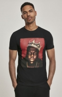 T-shirt Notorious Big Crown - Nera