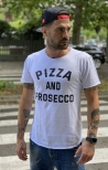 T-shirt Pizza And Prosecco- Berna