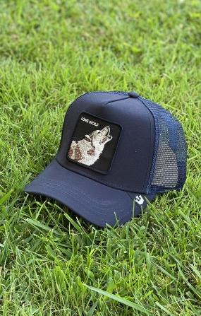 Cappello Lone Wolf Blu - GOORIN BROS