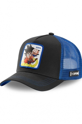 CAPPELLO DRAGON BALL GOKU NERO E BLU - CAPSLAB
