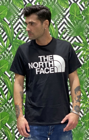 T-SHIRT UOMO STANDARD NERO - THE NORTH FACE