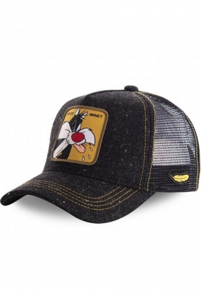 CAPPELLO BIG TWINK LOONEY TUNES NERO - CAPSLAB