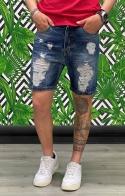 Bermuda Jeans con rotture - Due Punto Zero