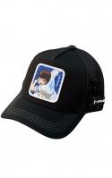CAPSLAB Cappellino Trucker Captain Tsubasa Nero