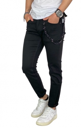 GIANNI LUPO Jeans Kevin Skinny Fit - Nero
