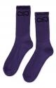 PROPAGANDA Calza Unisex Logo - Purple
