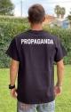 PROPAGANDA T-SHIRT LOGO - NERO