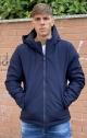 INMYHOOD Giubbotto corto in Goretex con Cappuccio - Blu