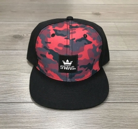 CAPPELLO SWAG - CAMO/RED