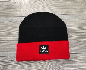 CUFFIA SWAG - BLACK&RED