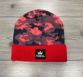 CUFFIA SWAG - CAMO/RED