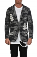 GIACCA UOMO CON ROTTURE - CAMOUFLAGE
