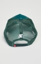 Siksilk & x starter oil wash trucker - Forest Green