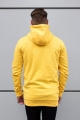 Sinners Attire Longline Pullover Hoodie - Yellow