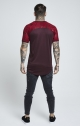 T-shirt SikSilk - Burgundy