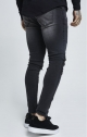 SikSilk Jeans Patch - Nero Lavato
