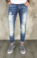 Jeans Strappati Ripped - Light Blue