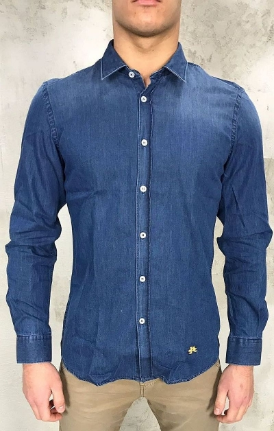 Camicia Denim Outfit Italy