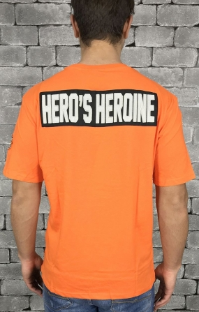 HERO'S HEROINE T-SHIRT ORANGE