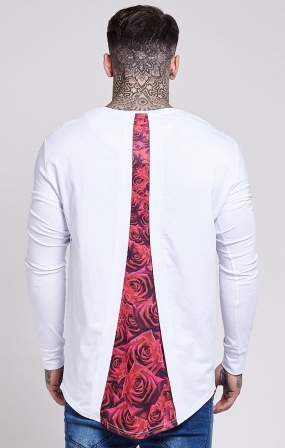T-SHIRT SikSilk BIANCA - ROSE RACER