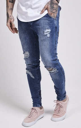 JEANS SikSilk - ROSE MIDSTONE